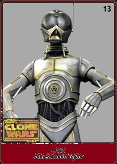 4-A7 / James Arnold Taylor / Star Wars SW Cromos / The Clone Wars'