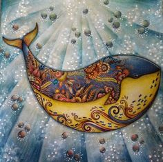 coloring ideas-whale