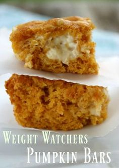 Do you like desserts? This Weight Watchers Pumpkin Bars Recipe is only 2 Smart Points per serving. Don't break the WW SmartPoints bank and still enjoy a sweet dessert.