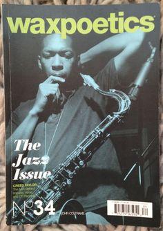 WAX POETICS #34 Jazz Coltrane Hubbard Melvin Sparks Creed Taylor Joel Dorn