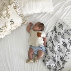 The best nap time view - this little guy is precious!