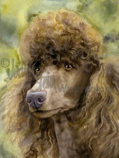 Icart Lady Poodle Dog Coffee Fine Art Vintage Poster Reproduction FREE SHIPPING