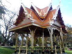Thai temple in Lisbon, Portugal