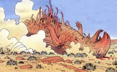 Selected works by Moebius #21