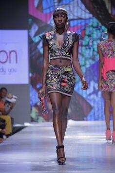 GLITZ AFRICA FASHION WEEK  » Aya Morrison