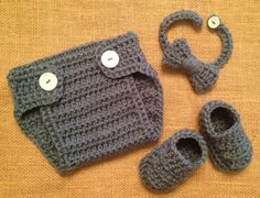Hey, I found this really awesome Etsy listing at http://www.etsy.com/listing/152541600/baby-boy-crocheted-bow-tie-diaper-cover