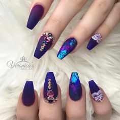 "1,242 Likes, 7 Comments - Vanessa Gisselle Nailz (@vanessanailzfeatures) on Instagram: ""Good morning world! Here is an awesome set by the lovely @nails_by_verovargas ✨"""