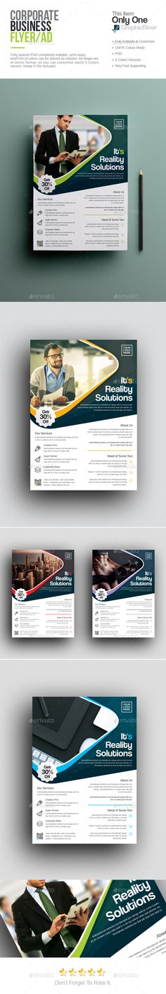 Corporate Flyer Template PSD. Download here: http://graphicriver.net/item/corporate-flyer/16318859?ref=ksioks