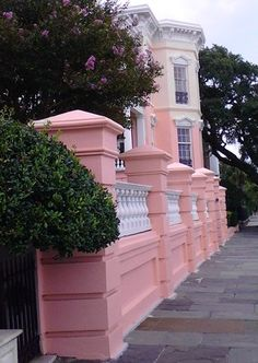 Beauty along The Battery♥~Charleston~Conchetta