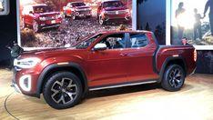 Volkswagen Atlas Tanoak Concept is a pickup truck tease 3640f1fcd