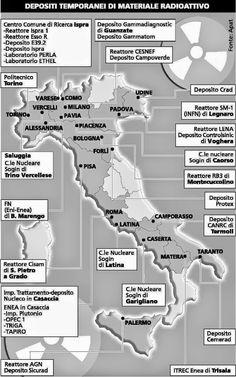 Su La Testa!: ITALIA ANNO 2014: DISCARICA NUCLEARE & ARSENALE DI ARMI ATOMICHE AMERICANE. RISULTATO: 20 MILIONI DI MALATI DI CANCRO