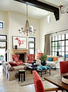 Arcadia Residence   Mediterranean   Living Room   Phoenix   Wiseman U0026 Gale  Interiors Mediterranean Living