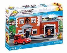 420 PCS ACTION TOWN /1475/ CITY FIRE DEPARTMENT /st