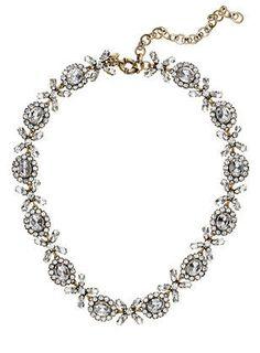 Floral XoXo Necklace ♥ L.O.V.E. #jcrew #bling  - so rpetty