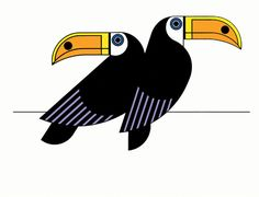 Print Club London – Toucans