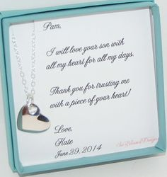 Gift Ideas For Your Sister On Her Wedding Day : Mother in Law gift Mother in law wedding gift by SoBlessedDesigns, USD42 ...