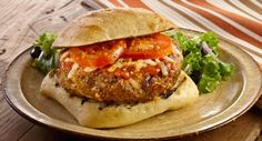 Backyard Brick Oven Pizza Burgers: Grill Mates® Backyard Brick Oven Seasoning add spicy heat to burgers. Add pizza sauce, mozzarella cheese and toppings to make it a pizza burger.