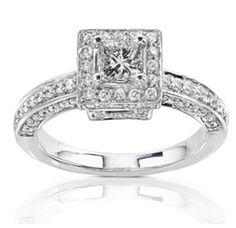 White American #Diamond Studded #Ring @ $53.03