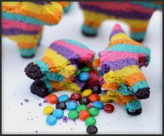 Piñata Cookies...a surprise inside...ahhhh