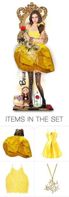 """""""Belle"""" by tracireuer ❤ liked on Polyvore featuring art"""