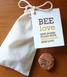 seed party favors for bees - Google Search