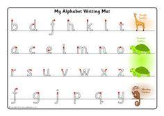 81 best letter formation images in 2014 letter formation preschool literacy alphabet activities. Black Bedroom Furniture Sets. Home Design Ideas