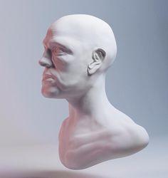 Señor // #zbrush #3d #3dart #c4d #cinema4d  #render #sculpt #vray #bust # by xainisrais