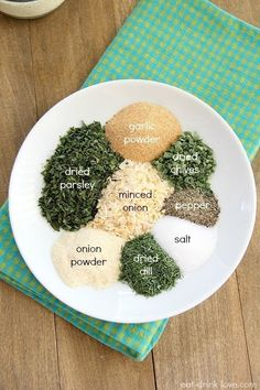 a healthier ranch dip out of Greek yogurt and a few spice rack staples. Make a healthier ranch dip out of Greek yogurt and a few spice rack staples.Make a healthier ranch dip out of Greek yogurt and a few spice rack staples. Whole 30 Recipes, Whole Food Recipes, Cooking Recipes, Healthy Recipes, Cooking Games, Healthy Chef, Family Recipes, Homemade Ranch Seasoning, Seasoning Mixes