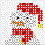 Deze kralenplank en vele andere in het thema winter kun je vinden op de website van Juf Milou. Hama Beads Christmas, Christmas Squares, Winter Activities For Kids, Diy Perler Beads, Beaded Crafts, Pony Beads, Plastic Canvas Patterns, Bead Art, Beading Patterns