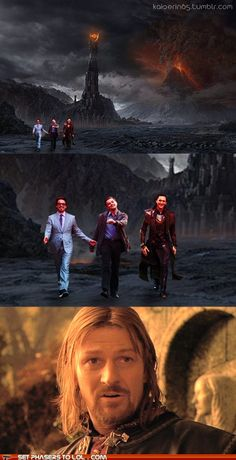 yes Boromir, it is possible to walk through Mordor