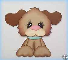 PEEKER PET DOG ANIMAL FOR MAT TOPPERS  PAPER PIECING BY MY TEAR BEARS KIRA