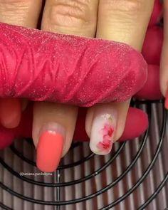 Nail Art Hacks, Nail Art Diy, Cool Nail Art, Claw Nails, Feet Nails, Colorful Nail Designs, Nail Art Designs, Lily Nails, Elegant Nail Art