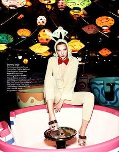 Heather Marks by David Burton for <em>Elle France</em>