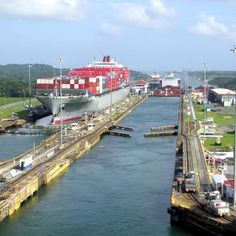 a history of the panama canal a waterway between the pacific ocean and the atlantic ocean Expanded panama canal still designed to protect both shipping and the waterway the panama canal has been in at the entry to the pacific ocean.