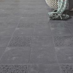 Dalle PVC adhésive GERFLOR Design palermo, 30.5 x 30.5 cm