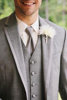 spring groom wearing calvin klein