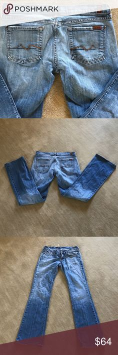 7 for all mankind Bootcut 30W 31 inseam EUC $174 Perfect for fall! 7 For All Mankind Jeans Boot Cut