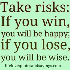 Win win but becareful the risk isn't more then you're willing to lose