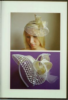 *КРУЖЕВО*: art and fashion Fascinator Hats, Headpiece, Lace Crowns, Bobbin Lace Patterns, Lace Making, Summer Hats, Hair Pins, Creations, Crochet Hats
