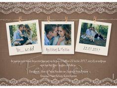 17211 Προσκλητήριο γάμου με φωτογραφίες Marriage, Frame, Valentines Day Weddings, Picture Frame, A Frame, Mariage, Frames, Weddings, Casamento