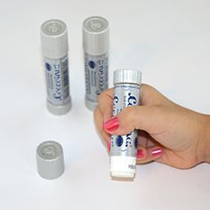 Coccoina Glue Stick, via stubbypencilstudi.... These eco-friendly glue sticks, made by Coccoina from potato starch are non-toxic, non-solvent, and acid free.