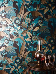 Osborne & Little Wallpaper Fantasque | TM Interiors Limited