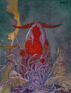 Strange Aeons Holiday Cover by Dubisch.deviantart.com on @DeviantArt