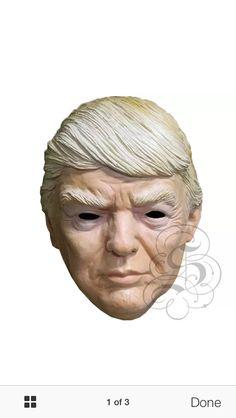 Latex Donald Trump Character www.stateoflatex.uk