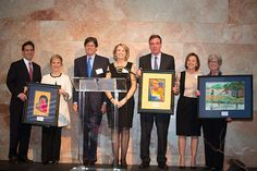A picture from ChildFund's 75th anniversary celebration held earlier this month at the Virginia Museum of Fine Arts. From left: Honorary co-hosts Majority Leader Eric Cantor and wife Diana Cantor; ChildFund Board of Directors Chairman A. Hugh Ewing III; me; honorary co-hosts Sen. Mark Warner and wife Lisa Collis; Connie Mooney, senior vice president at SunTrust Bank, our presenting sponsor. Photo by Hoot Media Photography.