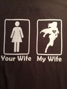 Custom My Wife Your Wife Supergirl or Wonder Woman t-shirt. Please specify shirt colors, ink colors and sizes when placing your order. Please check your ship to address as we ship to the address listed in your payment. Lollys Loft is not responsible for orders shipped to the wrong address. All copyrights and trademarks of the character images used belong to their respective owners and are not being sold. The items that Lollys Loft sells are not licensed products and we do not claim…