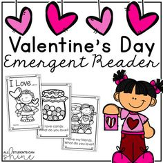 Are you ready for Valentine& Day? Here is a fun emergent reader for your little learners! Simply print the pages, staple on the side, and voila! You have yourself a cute little book for your students! I hope you enjoy this freebie. Valentines Day Book, Valentine Ideas, Valentine's Day Poster, Valentines Day Activities, Emergent Readers, Phonics Activities, Little Learners, Little Books, Techno