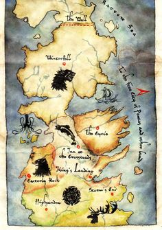 Houses of Westeros: The Riverlands, The Vale, & The Iron Islands