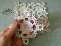 Crochet Stitches, Crochet Motifs, Crochet Doilies, Irish Crochet Patterns, Flower Crochet, Crochet Flower Tutorial, Crochet Irlandés, Crochet Videos, Easy Crochet