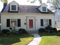 1000 images about house exterior on pinterest navy for Front doors for cape cod style homes